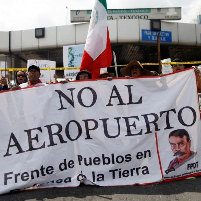 40% de mexicanos no está listo para responder sobre NAIM, según encuesta