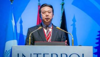 china acusa expresidente interpol recibido sobornos