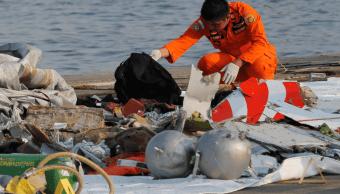 Accidente de avión en Indonesia. (AP)