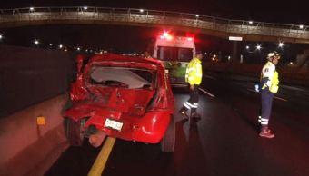 Un accidente en la México-Puebla causa dos muertos