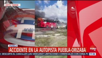 Accidente Múltiple Autopista Puebla Orizaba