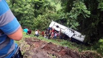 autobus cae barranco en nayarit hay ocho muertos y 40 heridos