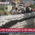 Acciones por desbordamiento de ríos en Veracruz