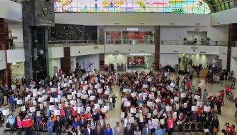Programa Soy México; entregan actas de doble nacionalidad