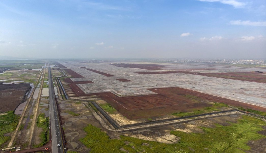 Construcción de nuevo aeropuerto continuará en Texcoco