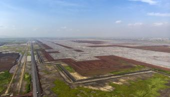 Construcción de nuevo aeropuerto continuará en Texcoco