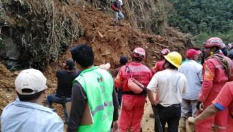 Clima Oaxaca; aumenta a 13 el número de muertos por lluvias