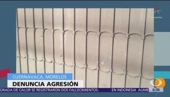 Alcalde electo de Cuernavaca denuncia ataque armado