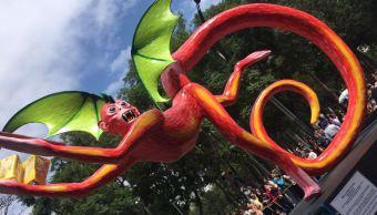 Realizan Desfile de Alebrijes Monumentales en la CDMX
