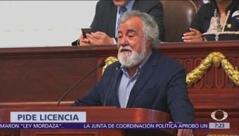 Alejandro Encinas se despide del Congreso Ciudad de México