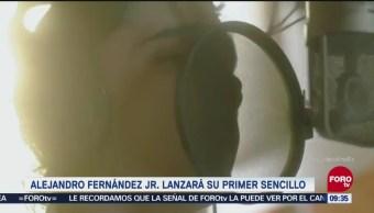 Alejandro Fernández Jr. lanzará su primer sencillo
