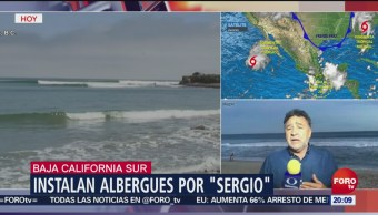 Alerta BCS Sonora Chihuahua Tormenta Tropical Sergio