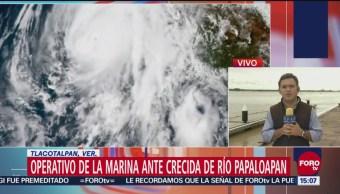 Alerta en Veracruz por inundaciones