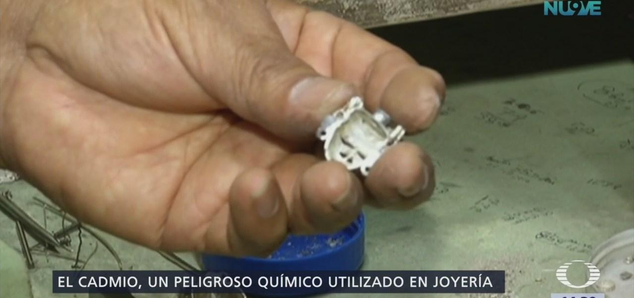 Alertan sobre joyería contaminada en California