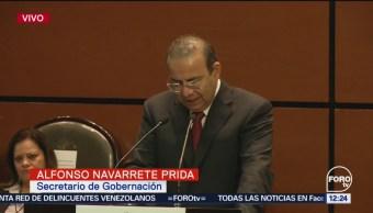 Alfonso Navarrete Prida comparece ante diputados