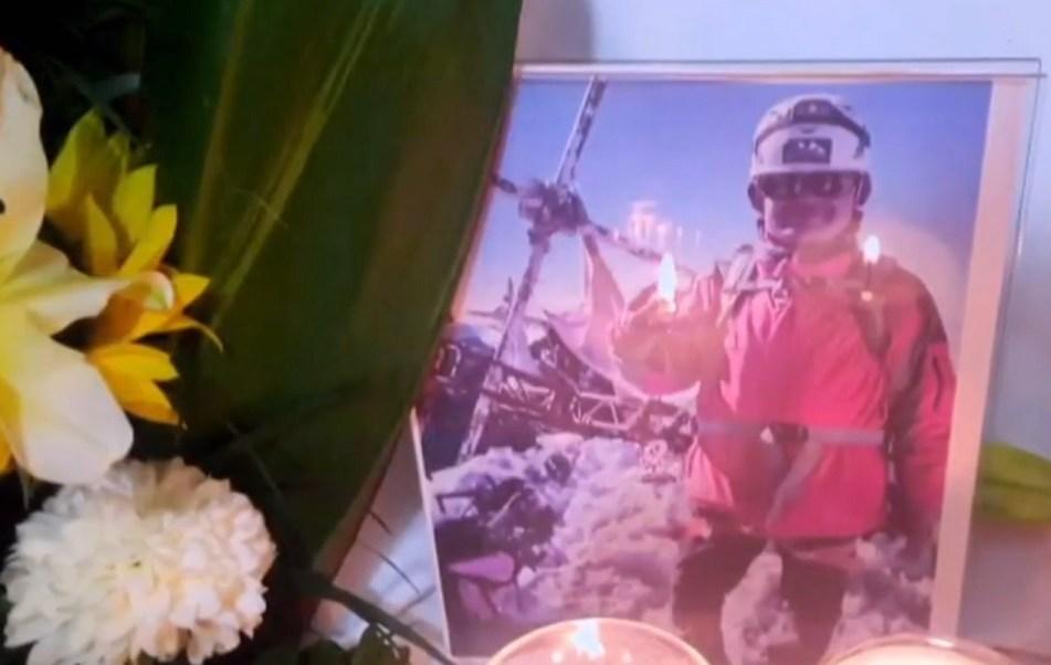 Despiden a alpinista que murió al escalar la cumbre del Pico de Orizaba