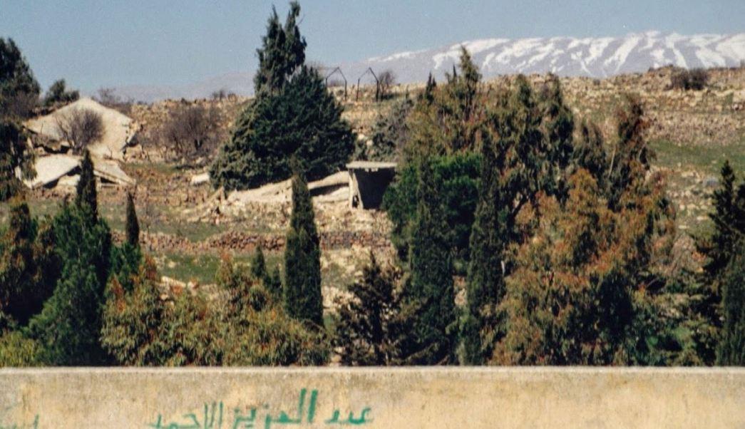 israel reabre frontera siria en altos del golan