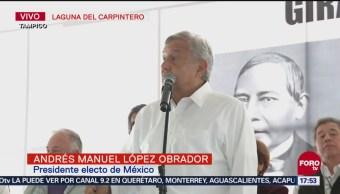 AMLO acude a mitin en Tamaulipas