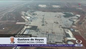 AMLO debería ser quien tome decisión del nuevo aeropuerto, dice Gustavo de Hoyos