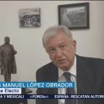 AMLO propone reducir costos del NAIM