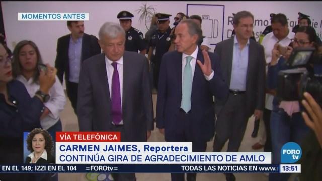AMLO se reúne con gobernador de San Luis Potosí