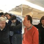 Lluvia detiene a López Obrador en aeropuerto de Cancún