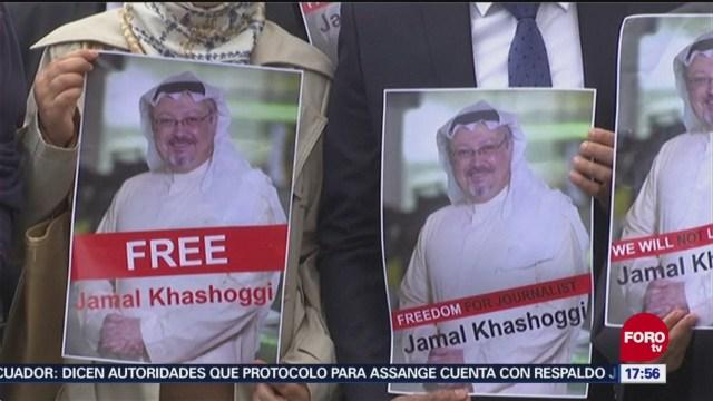 Arabia Saudita confirma que el periodista Khashoggi fue asesinado