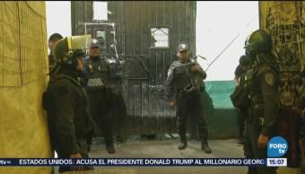 Aseguran droga durante operativo en Tepito