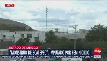 Asesino serial de Ecatepec comparece en audiencia