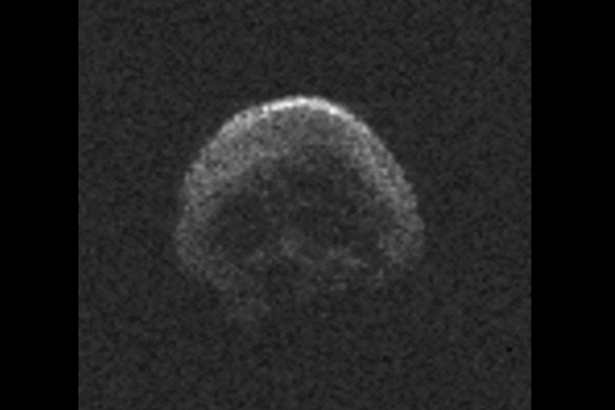El asteroide
