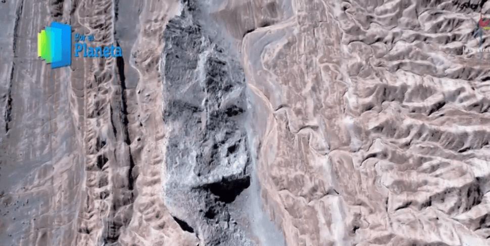 El Desierto de Atacama cubre una superficie de más de 100 mil kilómetros cuadrados. (Noticieros Televisa)
