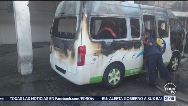 Atacan Sitios Transporte Público Acapulco Guerrero Taxis Combis