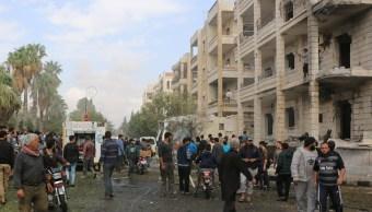 Ataque del Estado Islámico contra milicias kurdas en Siria
