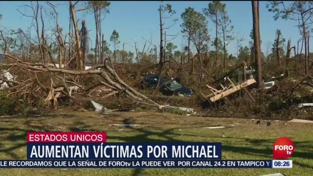 Aumenta Número Muertos Michael Huracán Michael Costas De Florida