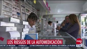 Automedicación, realizada por el 80% de los mexicanos