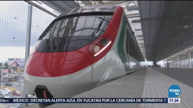 Avance Del 90 % Dos Tramos Tren Interurbano Zinacantepec, Estado De México Santa Fe En La Ciudad De México