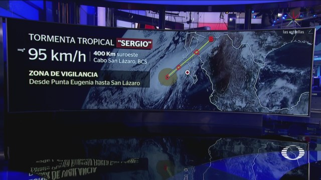 Baja California Alerta Llegada Tormenta Tropical Sergio