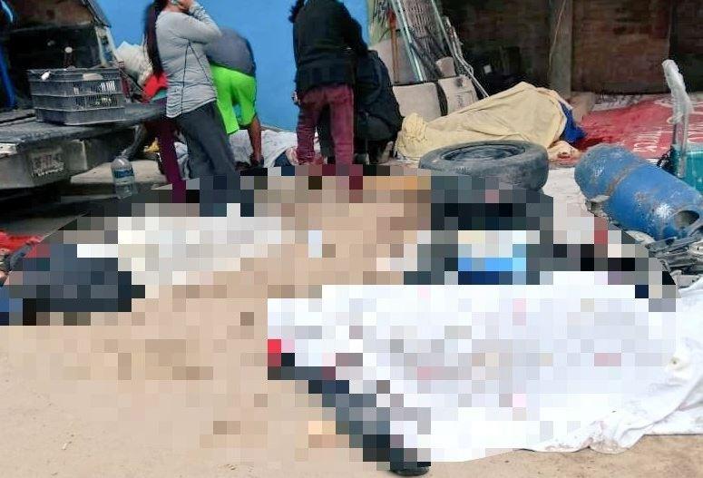 balacera tianguis deja cinco muertos chicoloapan edomex