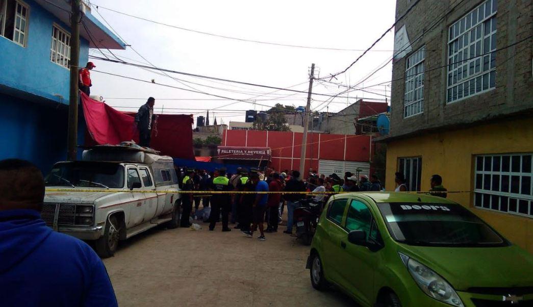 Balaceras causan 4 muertos en Chicoloapan, Estado de México