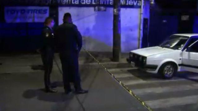 Matan a pareja dentro de vehículo en Azcapotzalco
