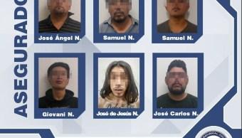 Seguridad Puebla; desarticulan banda de secuestradores