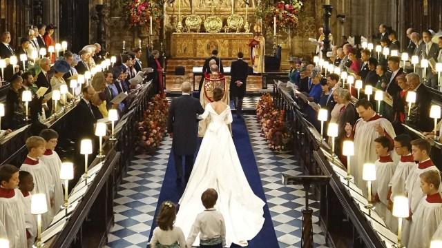 Boda real: Windsor se engala para el enlace de la princesa Eugenia y Jack Brooksbank