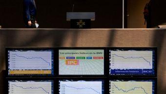 Bolsa Mexicana de Valores cae en línea con mercados globales