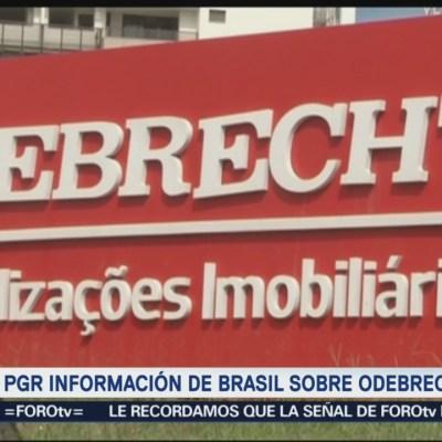 Brasil no ha proporcionado información sobre Odebrecht