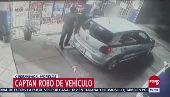 Captan Robo Vehículo Cuernavaca Morelos Lomas de Cortés
