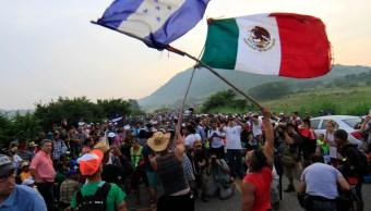 Ingresa segunda caravana de migrantes a Chiapas