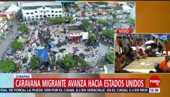 Caravana migrante permanecerá en Huixtla en memoria de compañero muerto