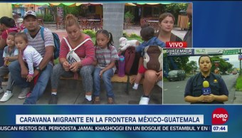 Caravana migrante podría pedir asilo en México