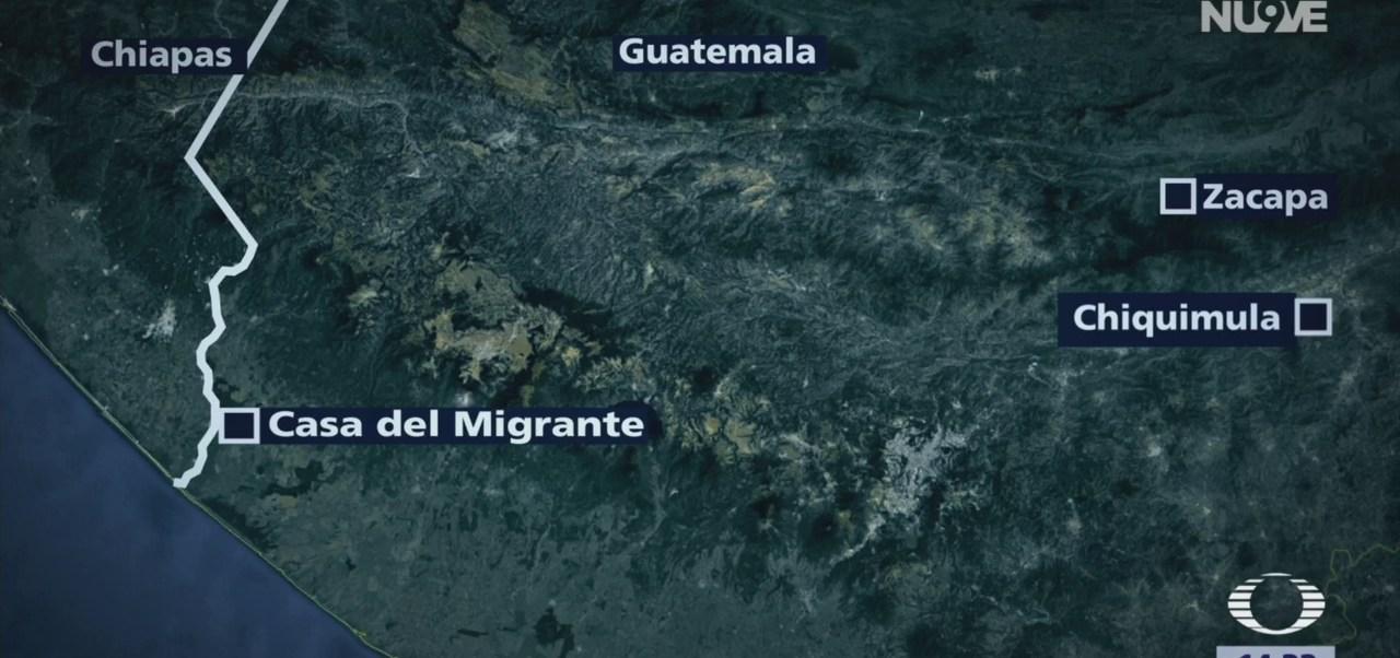 Caravana migrante sigue su camino a México