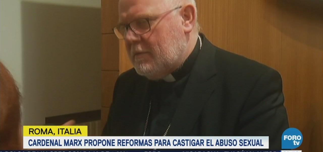 Cardenal Reinhard Marx Propone Reformas Castigar Abuso Sexual